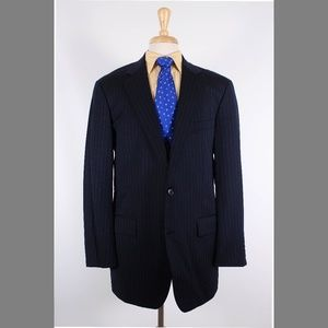 Brooks Brothers 41L Navy Sport Coat Y098